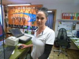 Sara Receptionsleiterin